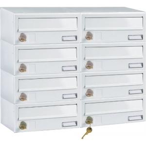 Poštovní schránky do sestav (panelákové schránky)