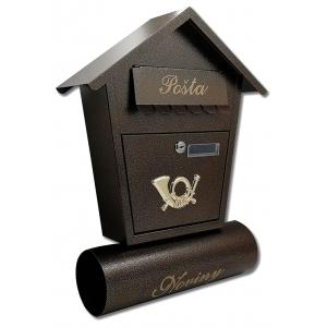 Poštovní schránky s boxem na noviny
